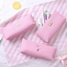 unicorn pencil case Flamingo estuche escolar Kawaii pen Creative box pencilcase trousse scolaire stylo papelaria