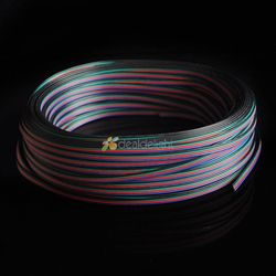 100m 4 pin rgb extension wire connector cable cord for 3528 5050 rgb led strip free.jpg 250x250