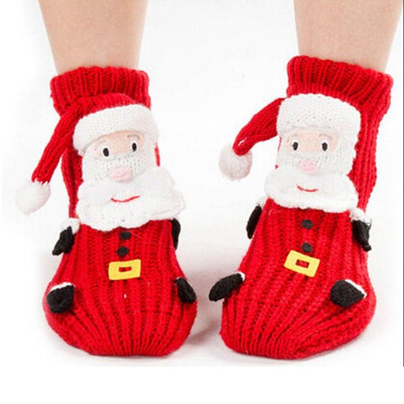 ④free shipping 300PCS/LOT Christmas socks for women,floor santa ...