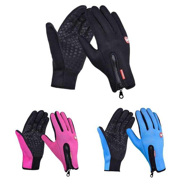 Outdoor sports Windstopper Wasserdicht radfahren handschuhe handschuhe winter voller finger reiten handschuhe warme angeln GEL handschuh