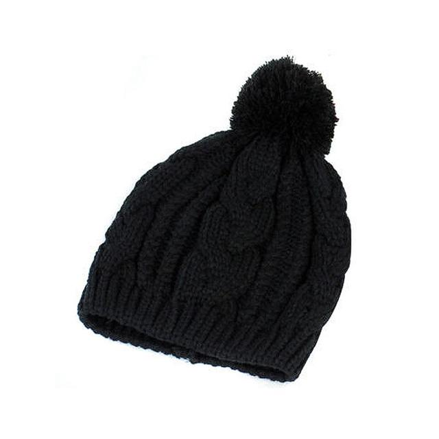 HOT SALE!Warm Winter Unisex Men Women Knit Bobble Beanie Baggy Hat ... 7404af89e4c
