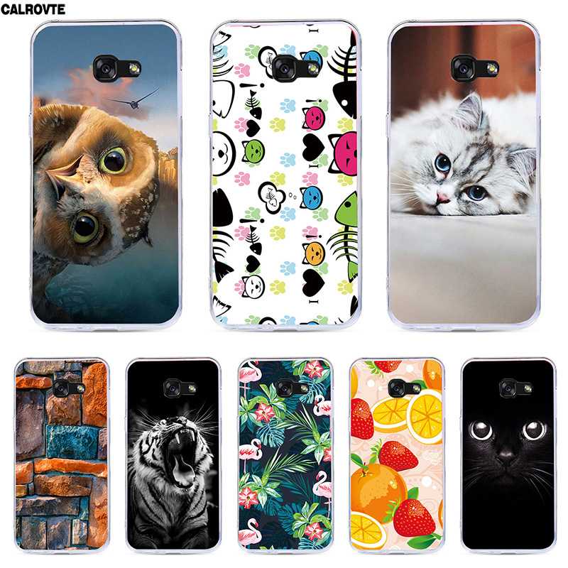 A6 A6+ For Samsung Galaxy A6 2018 Case Silicon SM A600 A600F Soft TPU Bags For Samsung A6 Plus 2018 A605 A605F Cases Painting