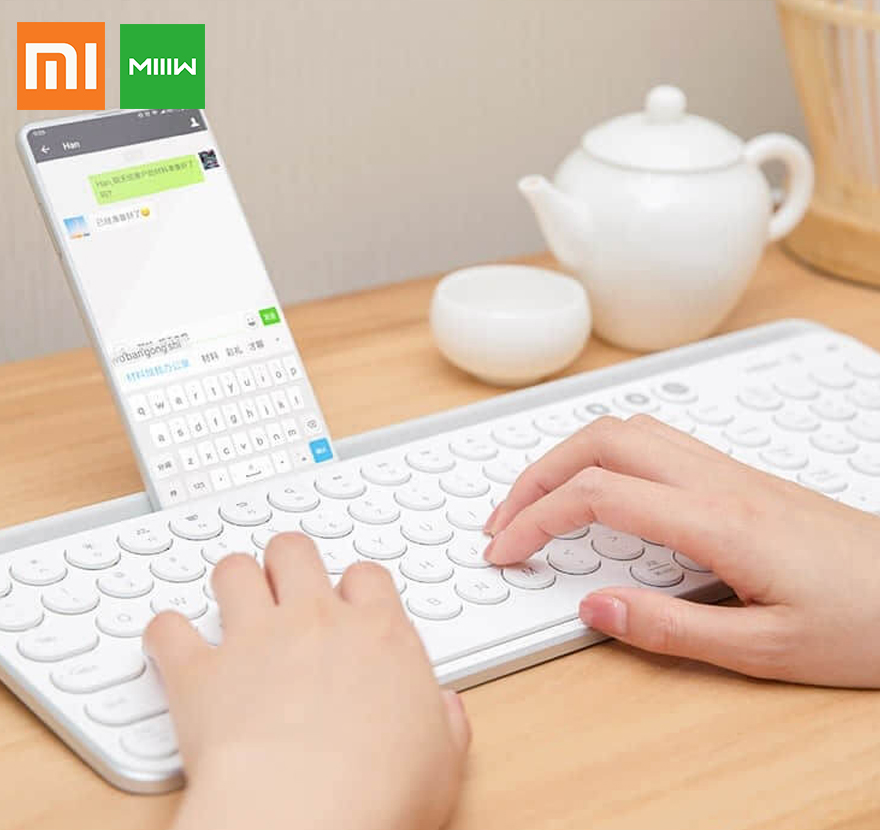 xiaomi bluetooth keyboard Wireless gaming Computer Keycaps mechanical stickers for iPad samsung Galaxy IOS Android mi