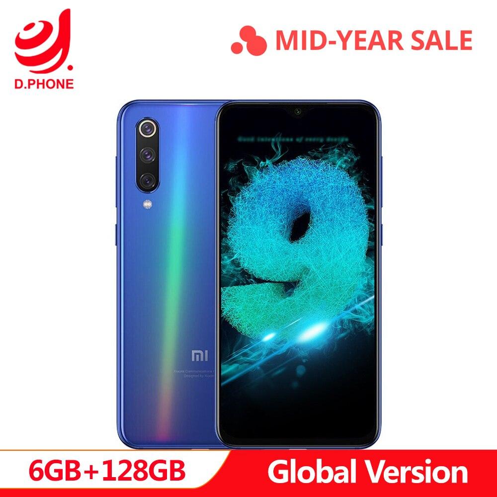 Versão Global Xiao mi mi 9 SE 6 GB 128 GB ROM Snapdragon 712 Núcleo octa 5.97