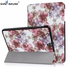 XIN-MUM Case For Samsung Galaxy Tab S3 9.7 T820 T825 T829 Filp folding Stand PU Leather Cover For Samsung Galaxy Tab S3 9.7 inch стоимость