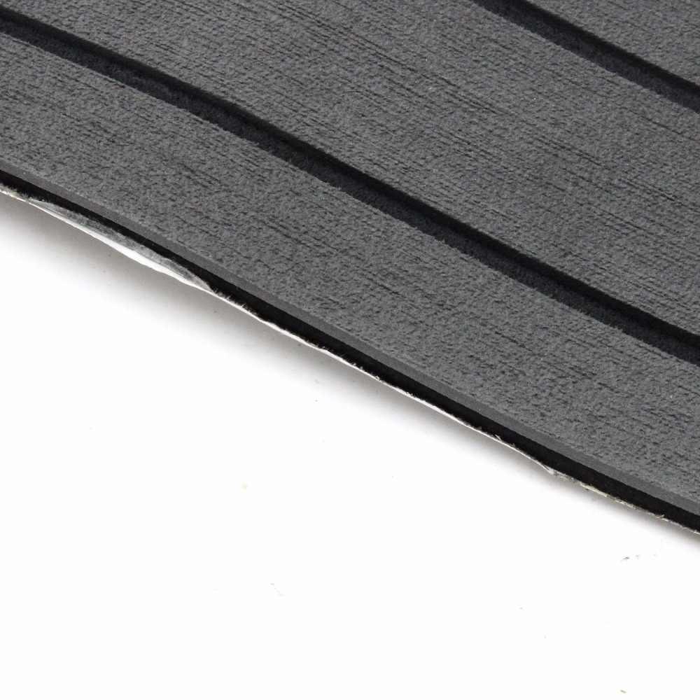 Из вспененного этилвинилацетата под тиковое дерево темно-серый с черной лодкой листовое покрытие для пола яхты синтетический Тиковый настил коврик с 3 м сильный gule