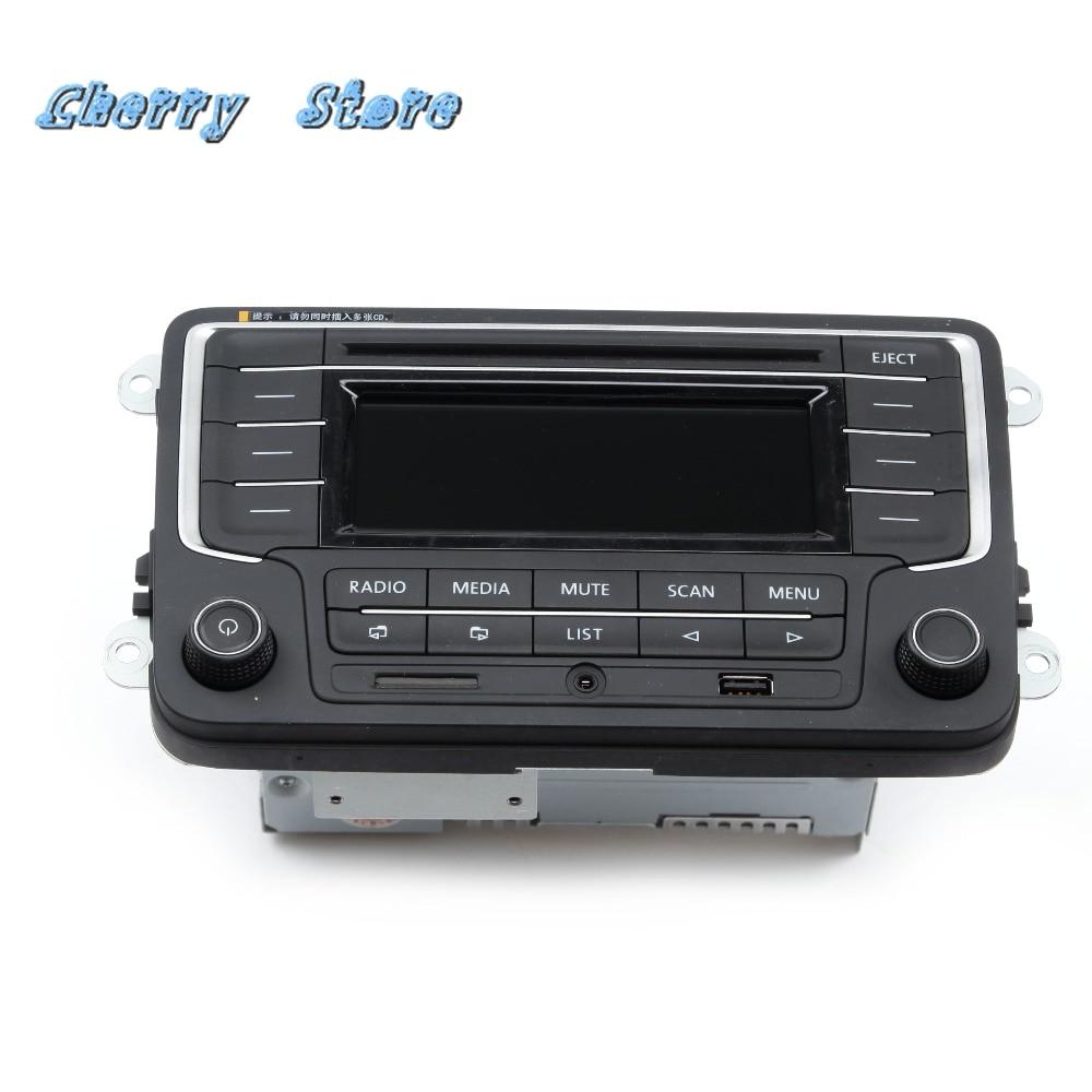 NEUE 3AD 035 185 RCD 510 Auto Radio MP3 Player Mit USB AUX SD Karte Für VW Golf MK5 Jetta MKV Tiguan Passat CC Polo 6R 3AD035185