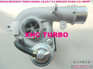 NEW K0422-582/53047109904 Turbo Turbocharger for MAZDA 3,6,CX-7 2.3 MZR,DISI EU/NA 2.3L 260HP 2005-