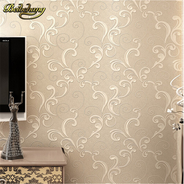 Modern Embossed 3d Wallpaper Textured Wall Paper Roll For Bedroom And Living Room