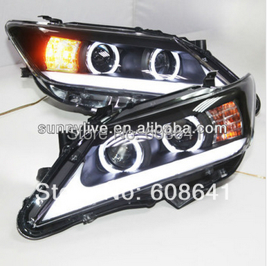 Pro TOYOTA 2012–13 let Aurion Camry LED Head lampa ZM