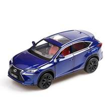 Hot Simulation 1:32 scale diecast suv cars toyota lexus nx200t metal model alloy toys with light & sound pull back collection(China)