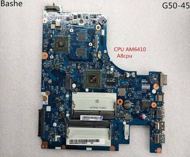 لوحة أساسية لأجهزة الكمبيوتر المحمول لينوفو G50   45 اللوحة الأم AMD am6410 A8 MB aclu5 aclu6 نانومتر إلى 15 بوصة a281 كاملة tesed