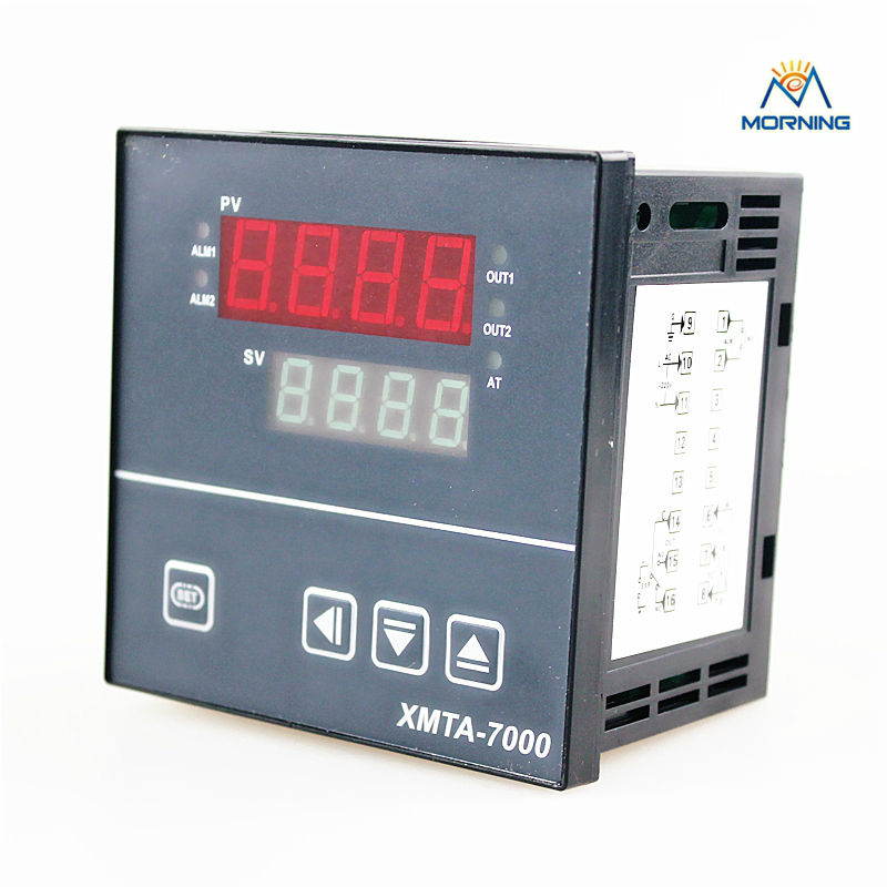 XMT7000,XMTA7411 panel size 96*96mm LED digital display multiperiod industrial usage temperature monitor for gas ovens
