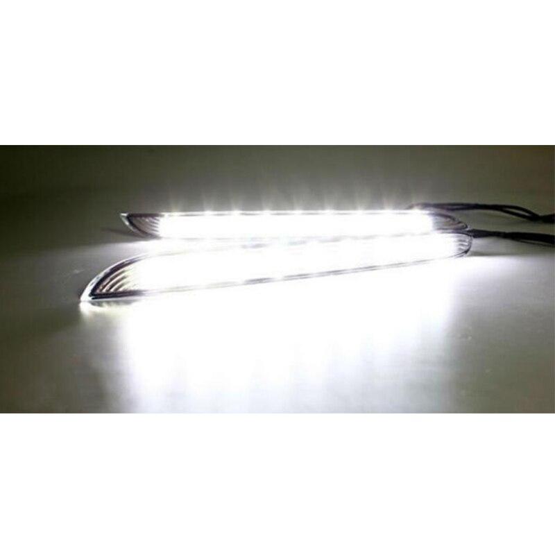 Super svetle LED DRL vodotesne dnevne luči za dnevne luči za KIA K2 - Avtomobilske luči - Fotografija 2