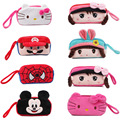 Cartoon Kids Plush Children's Wallet Super Spider Coin Bag Key Mobile Phone Bag Kitty Change Purse Small Handbags for Girls Cute