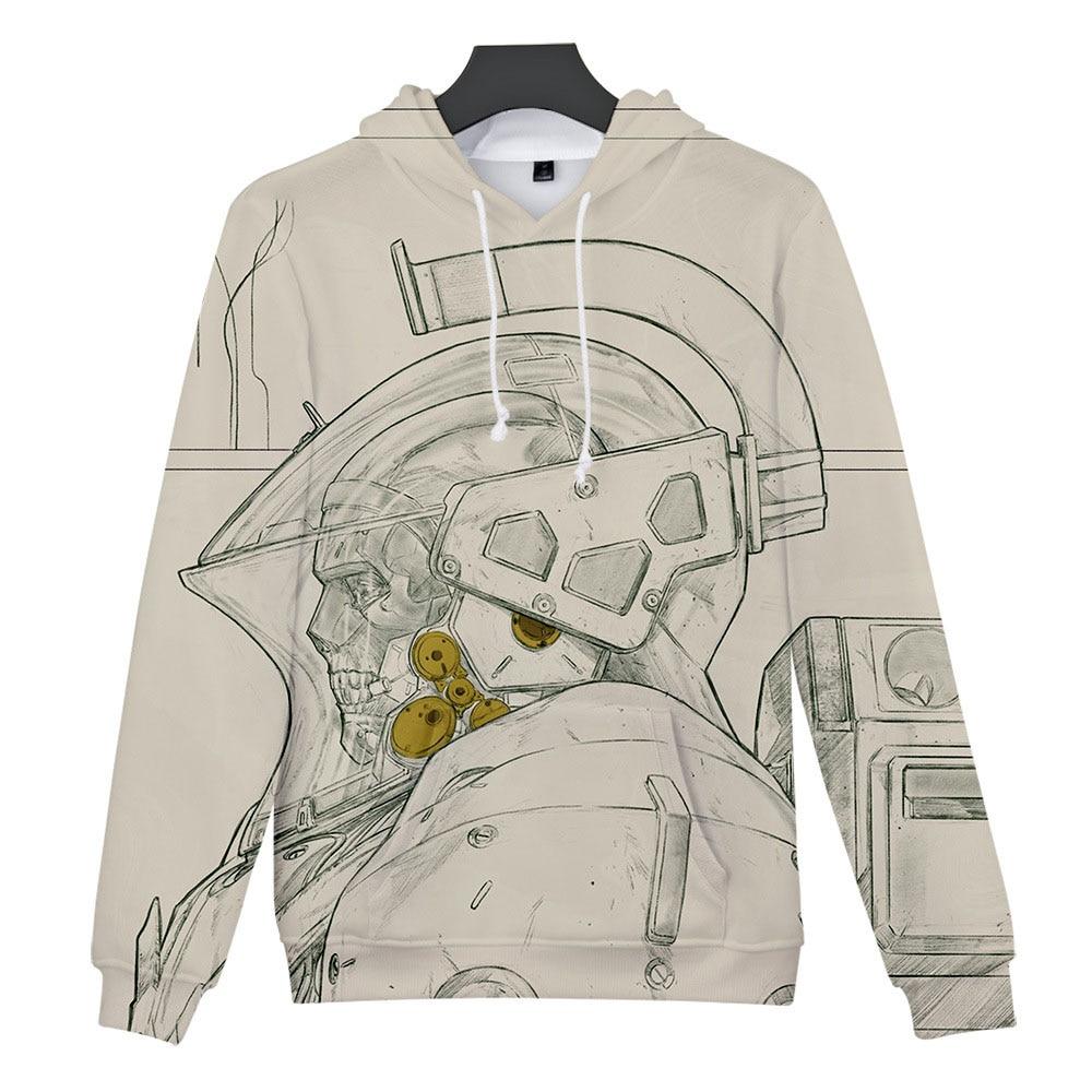 Death Stranding Hoodie Men Women Kid 3d Sweatshirt Hideo Kojima Production(China)