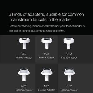 Image 5 - Xiaoda умная Индукционная водосберегающая насадка, инфракрасный индукционный водопроводный кран с защитой от перелива, поворотный водосберегающий кран с форсункой