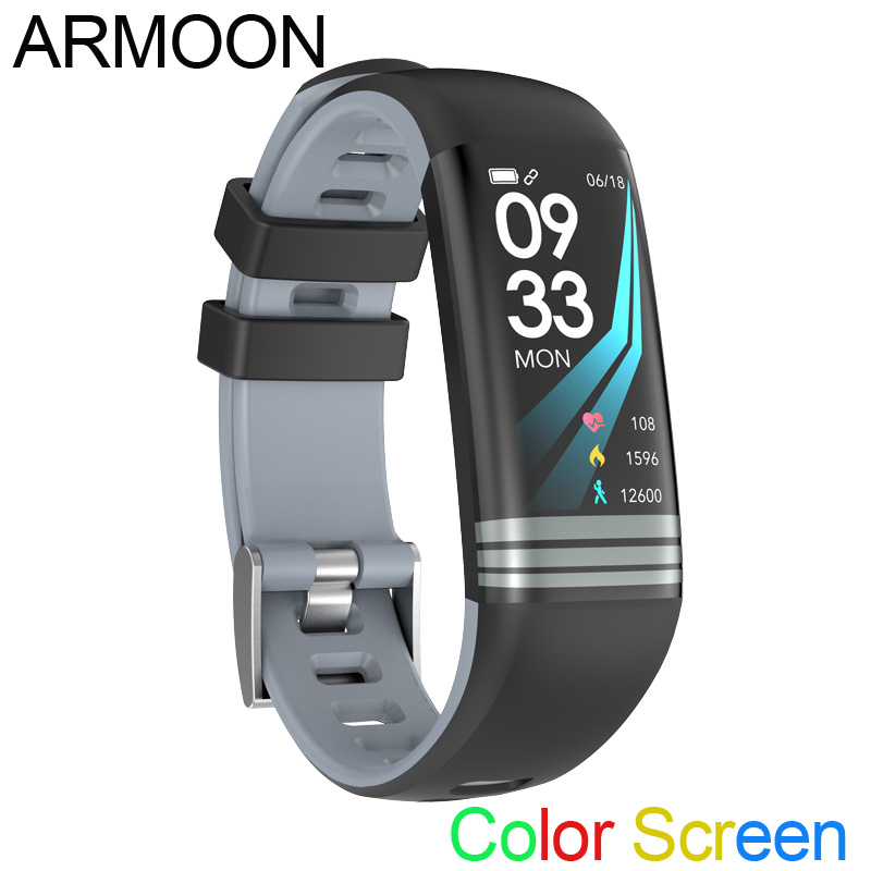 все цены на Smart Band G26 Android IOS Heart Rate Fitness Bracelet Sleep Monitor Fitness Tracker Color Screen Watch Multi Sports Mode Band онлайн