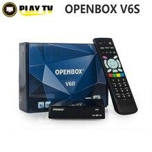 10 unids V6S Mini Receptor de Satélite Digital Del Openbox con AV HDMI de salida 2 xUSB WEB TV USB Wifi 3G Biss Clave CCCAMD NEWCAMD MGCAMD