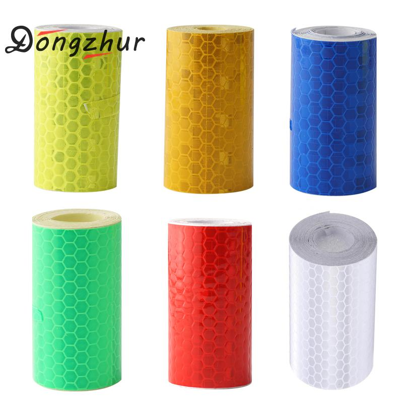 5*100cm Bike Stickers Decals Reflective Stickers Strip Car Bicycle Reflective Tape Sticker Wheel Bike Bicycle Accessories