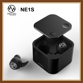 MACAW NE1S настоящие Беспроводные Bluetooth 5,0 HIFI аудио Динамический драйвер наушники в ухо спортивные наушники поддержка AAC/SBC IPX7