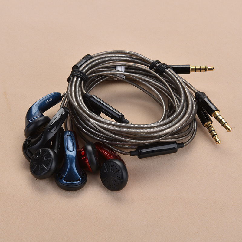 Diy Earphone Heavy Bass Sound Quality Music Stereo Headsets HIFI Earbuds Headphone with mic for iphone xiaomi huawei