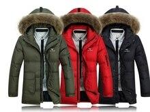 Hot! Freies verschiffen! ! Neue winter ultradünne art von dünger plus-größe männer daunenjacke Punchinello doppel unten 6 Xl männer mantel