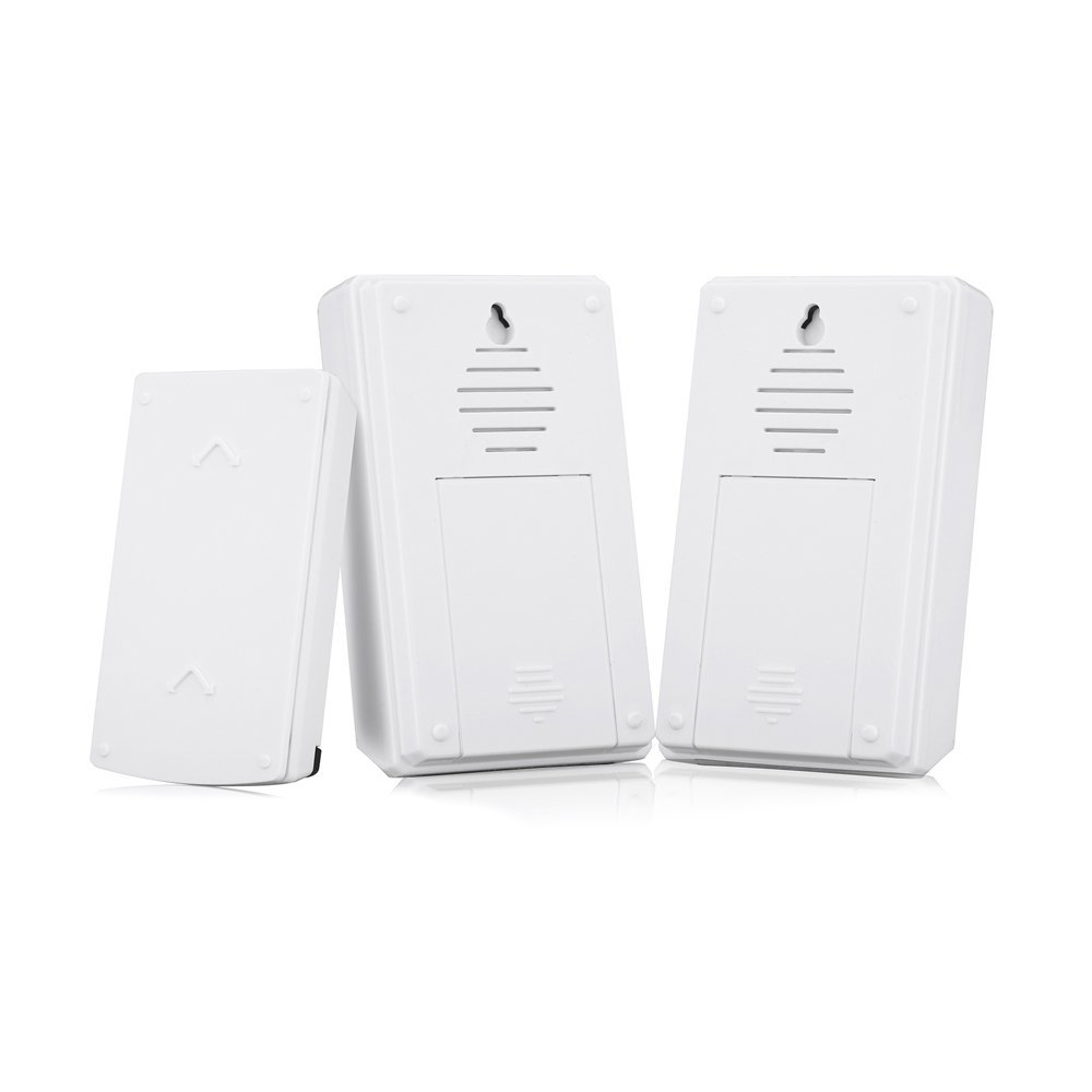 Wsfs Hot Forecum 5f Waterproof Wireless Doorbell Door Chime 36 Songs Bell  100 Meters Range Two