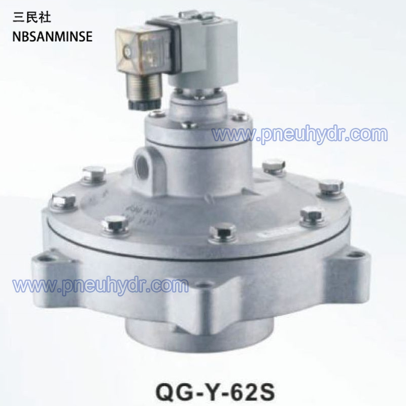 ФОТО SQG-Y-62S Series Electromagnetic Pulse Valve High quality (NBSANMINSE) Pluse Valve