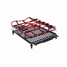 1set Metal Roof Rack Luggage And Net for 1/10 RC Crawler SCX10 90046 Tamiya CC01 D90 Traxxas TRX-4 TRX4