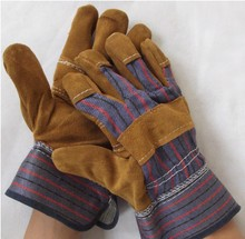 Welding Gloves Labor Protective Wear-resisting High Temperature Resistant Cowhide Work Gloves