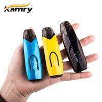 Original Kamry X Pod Starter Kit 650mAh W/2ml Cartridge LED Light Food Grade Drip Tip MTL/ DTL Ecig Vape Kit VS Drag Nano