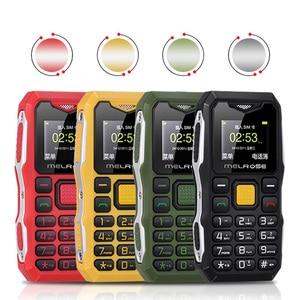 Image 5 - Melrose мини Военный карманный телефон, длинный режим ожидания, большой голосовой фонарик, FM, одна Sim, маленький размер, запасной мобильный телефон P105