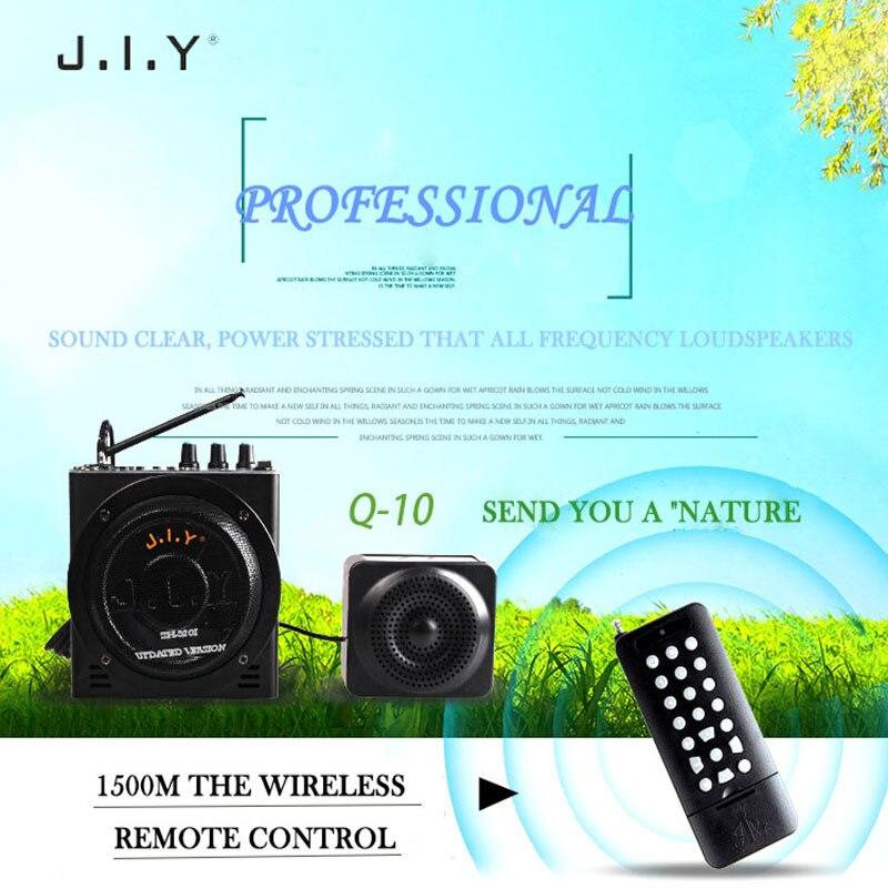 Teaching microphone Voice amplifier Speaker Wireless Portable Megaphone Loudspeaker for Tour Guide External Voice TF FM