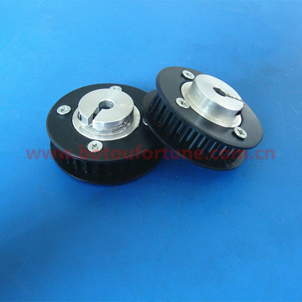 Polycarbonate 28 teeth HTD5M timing belt pulley for 9mm width 6pcs a pack free shipping 10pcs an8481sb