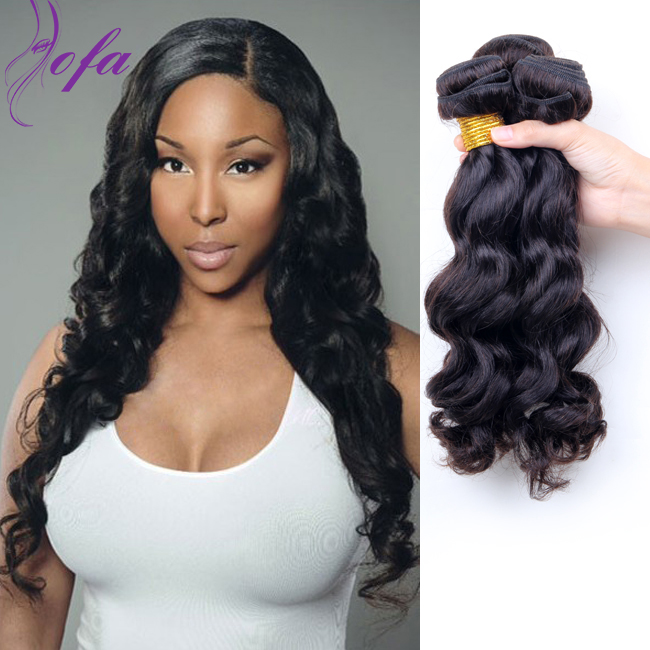 34 Brazilian Wave Virgin Hair Loose Wave Human Hair Bundles Remy