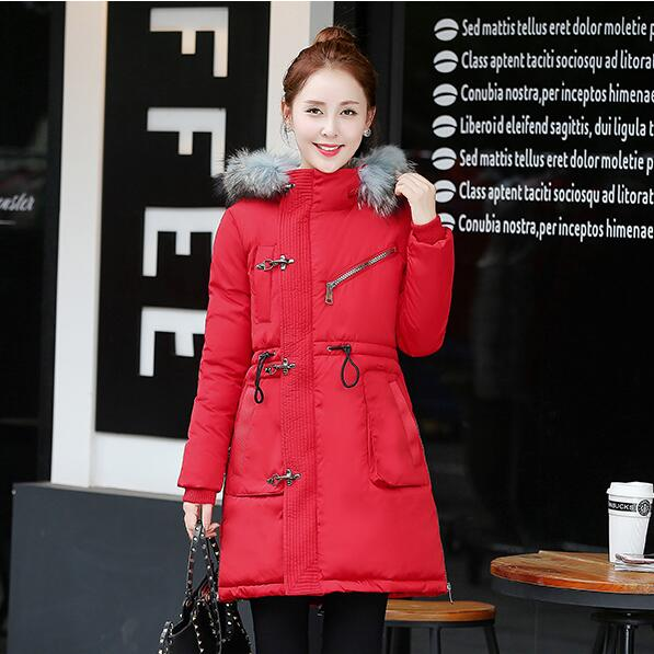 ФОТО TX1158 Cheap wholesale 2017 new Autumn Winter Hot selling women's fashion casual   warm jacket female bisic coats