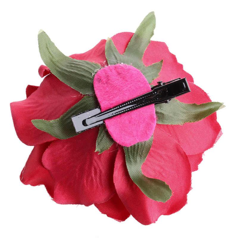Свадебные розовые цветы украшения для волос заколка брошь на свадьбу для подружки невесты Аксессуары