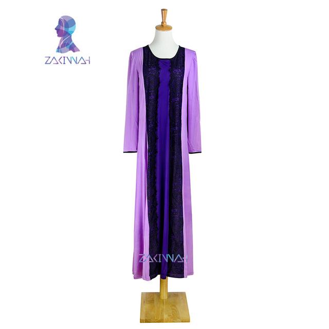 10017 calidad última moda señoras caftán árabe dubai abaya kaftan musulmán encaje detallada vestido de diseño de la ropa islámica para las mujeres