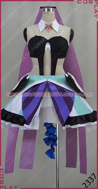 Macross Delta Mikumo Guynemer Girls Party Dress Cosplay Costume S002