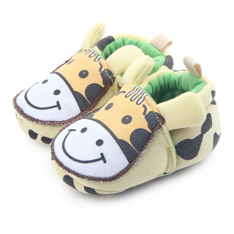 Baby Crib Shoes Unisex Child Cute Cartoon Loafers Soft ...