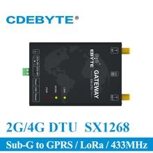 E90 DTU(400SL30 GPRS) 433MHz GPRS 1W LoRa SX1268 Interface USB Modem de Transmission de données sans fil Sub G au Module récepteur GPRS