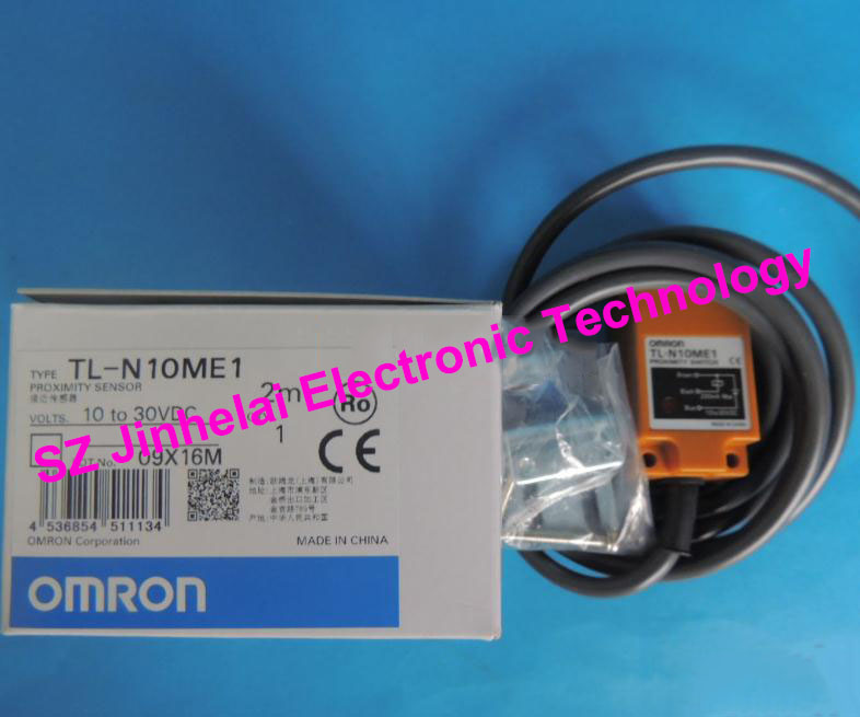 цена на 100% Authentic original TL-N10ME1 OMRON Proximity switch, Proximity sensor 10-30VDC 2M