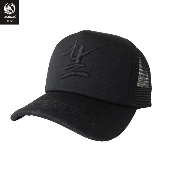 27570c3416a0c The Wookong 2017 cotton black men women breathable baseball cap wukong logo chinese  Embroidery M-H009 free shipping