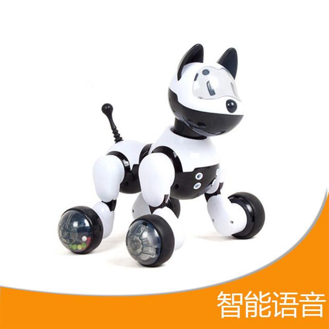Em Estoque das Crianças brinquedos modelo mais recente cão máquina inteligente indução voz enigma brinquedos educativos Brinquedos Infantis Melhores Presentes