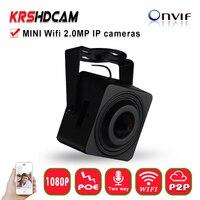Mini IP Camera Sony Starvis 2MP Pinhole 3 7mm Lens 1080P Wifi CCTV Network Cam Support