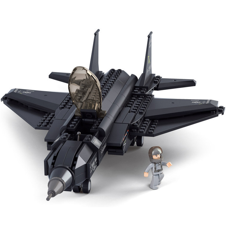 Building Block Set Compatible with lego Military F 35 Lightning     Building Block Set Compatible with lego Military F 35 Lightning Fighter 3D  Construction Brick Educational Hobbies Toys for Kids in Blocks from Toys