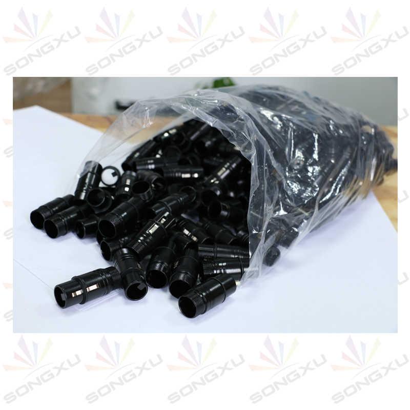Songxu 14 Pcs/lot DMX Kabel 1.5 M/5ft Panjang 3-Pin Sinyal XLR Koneksi DMX512 Tahap Lampu DMX kabel Laki-laki Ke Perempuan/SX-AC022