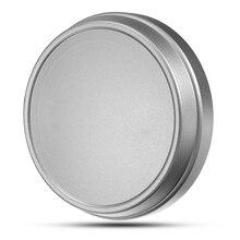 Metal Front Lens Cap camera Aluminum Silver protector hood f