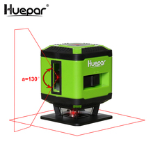 Huepar Red Beam Floor Laser Level for Tile Laying Square Leveling, Cross Line 360 Degrees Coverage Horizontal FL360R